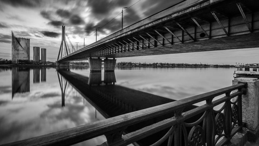 Cityscape Of Riga