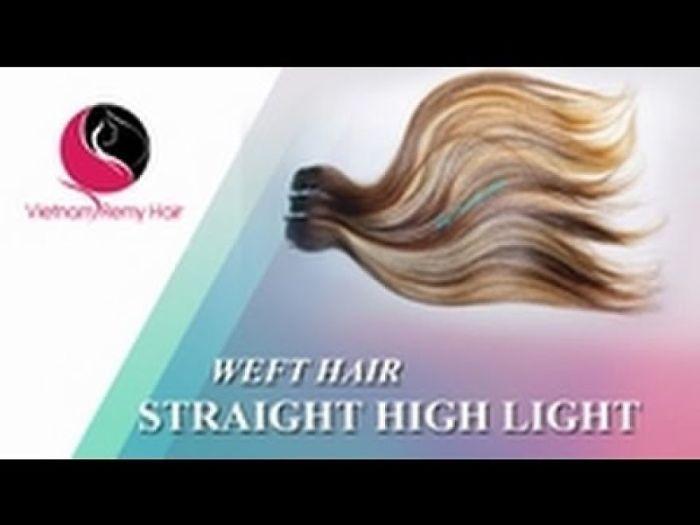 Vietnam Remy Hair| Weft Straight Hair – Color Highlight