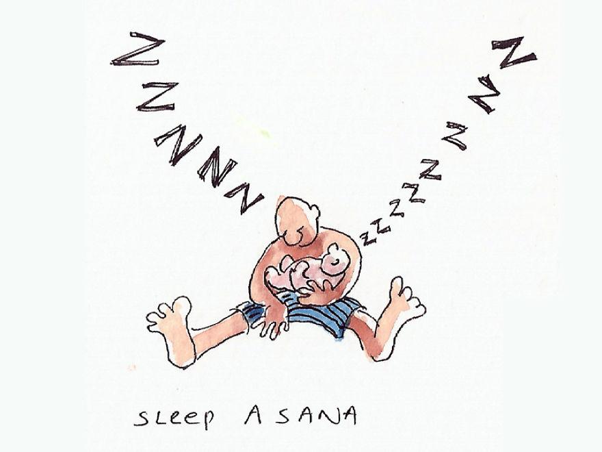 """Sleep """"Asana"""""""