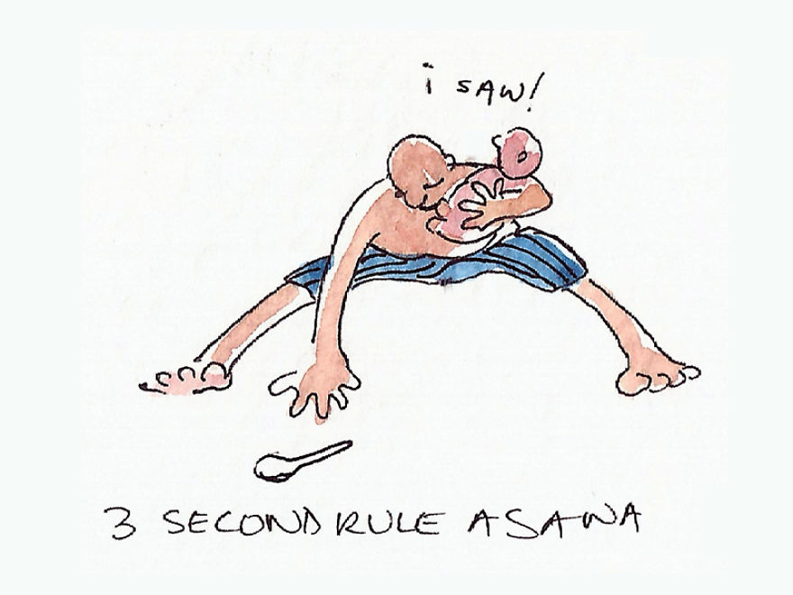 "Three Second Rule ""Asana"""