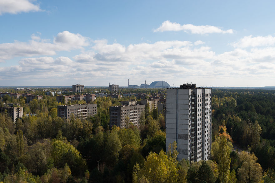 ghost town in the middle of ukraine  u2013 chernobyl 31 years after the explosion