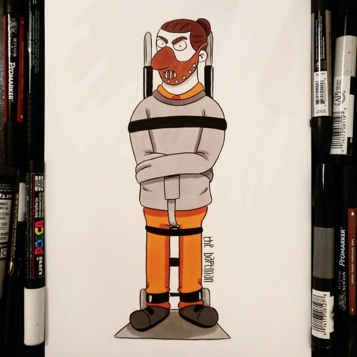 I Imagined Famous Geek / Pop Culture Mashed Up Characters