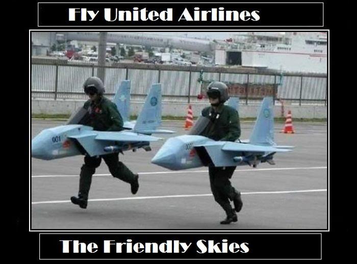 #unitedairlines Fly The Friendly Skies