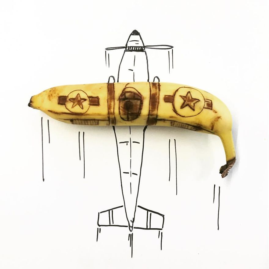 Yes, I Draw On Bananas