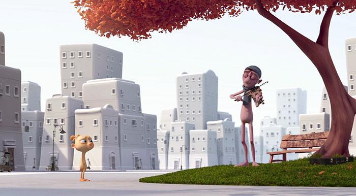 Este premiado cortometraje de animación al estilo Pixar muestra como la sociedad destruye nuestra creatividad