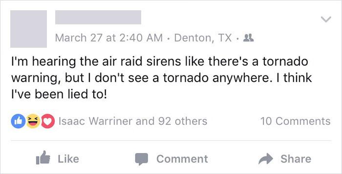 Blind Guy Humor