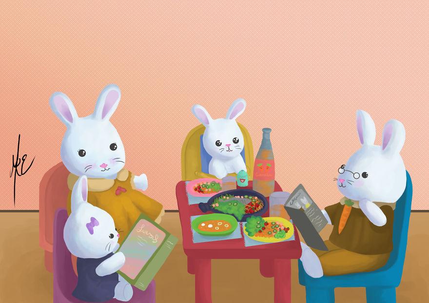 Mredesign Children Illustrations