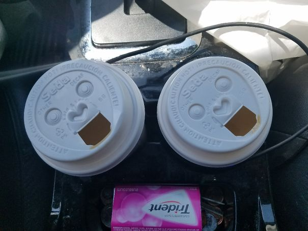 Coffee Cups Look Like Ecstatic Monkeys