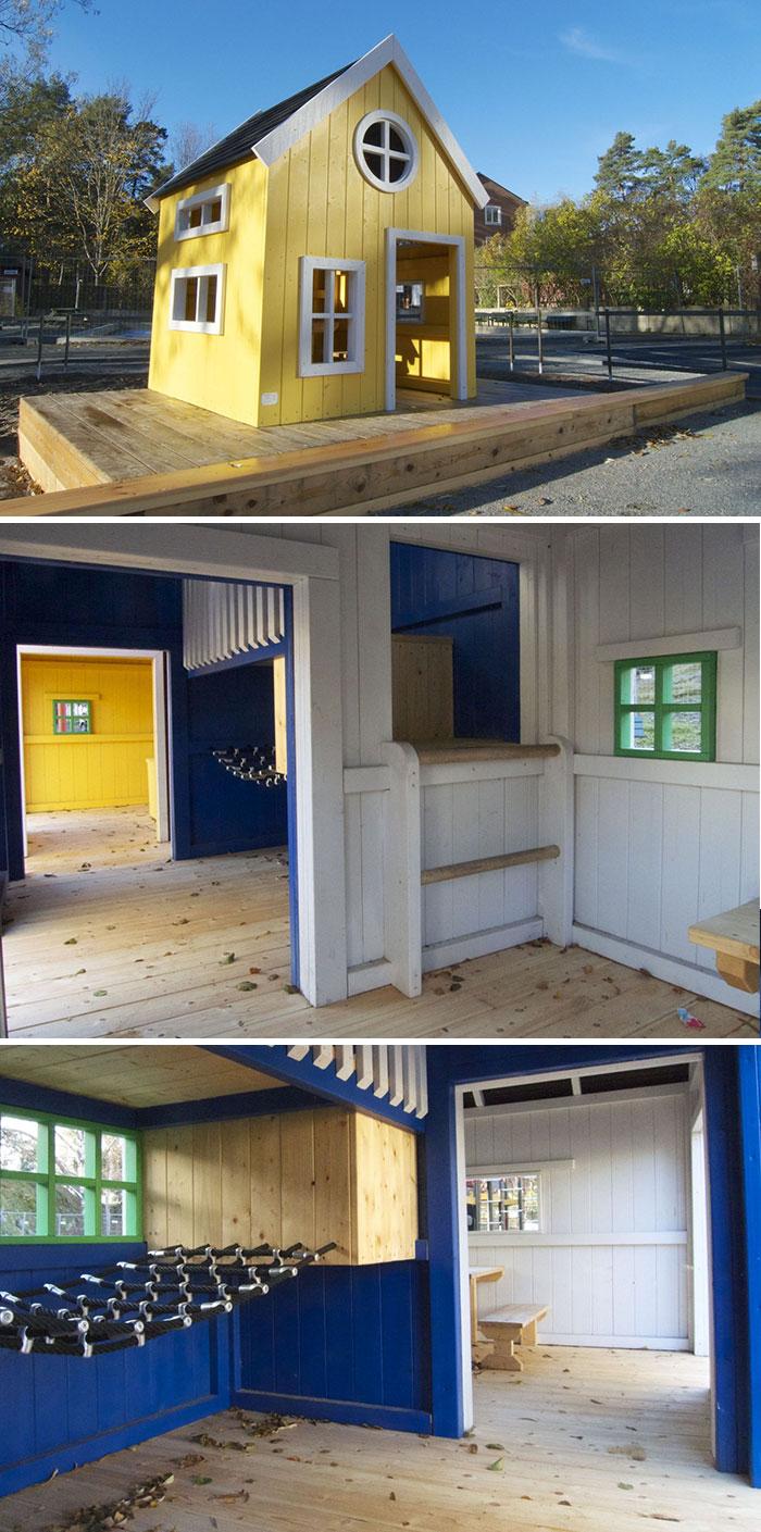 El faro y la casa del pescador