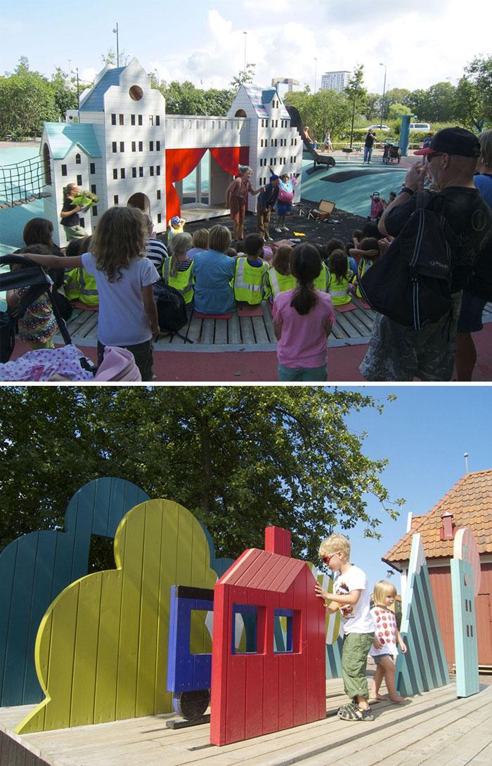 Parque infantil teatral