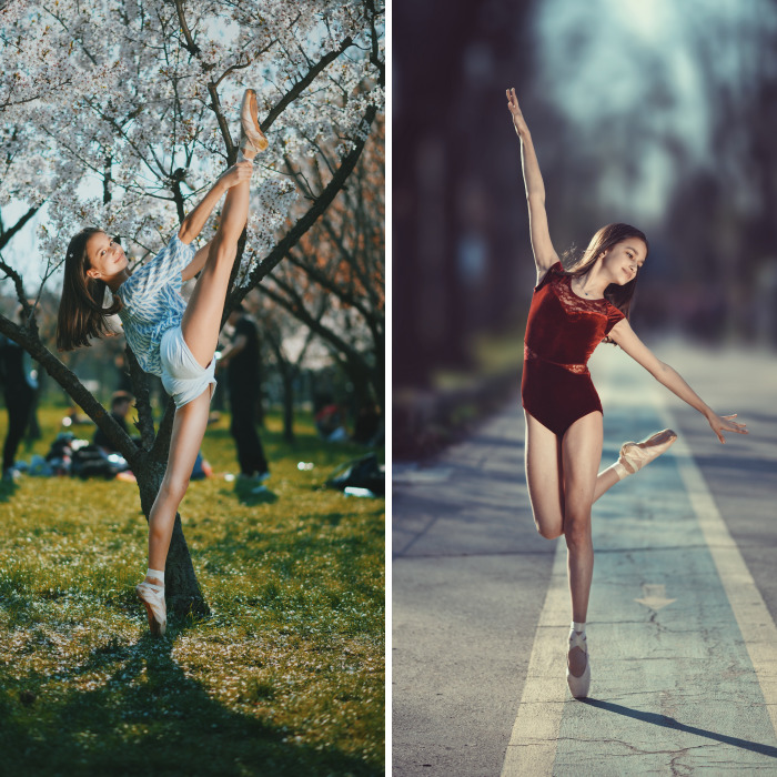 I Captured Stunning Portraits Of A Little Ballerina On A Beautiful Spring Day
