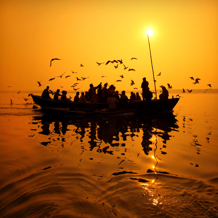 India's Holy River And Its Inhabitants