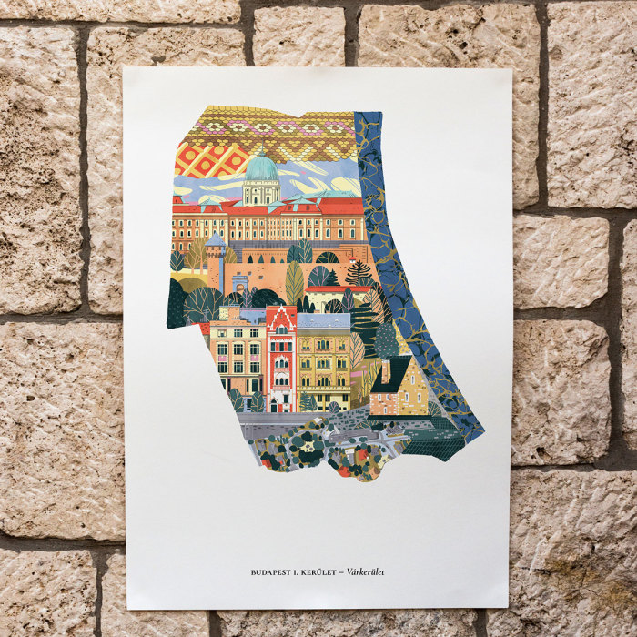 Posters About Budapest, Capital Of Hungary