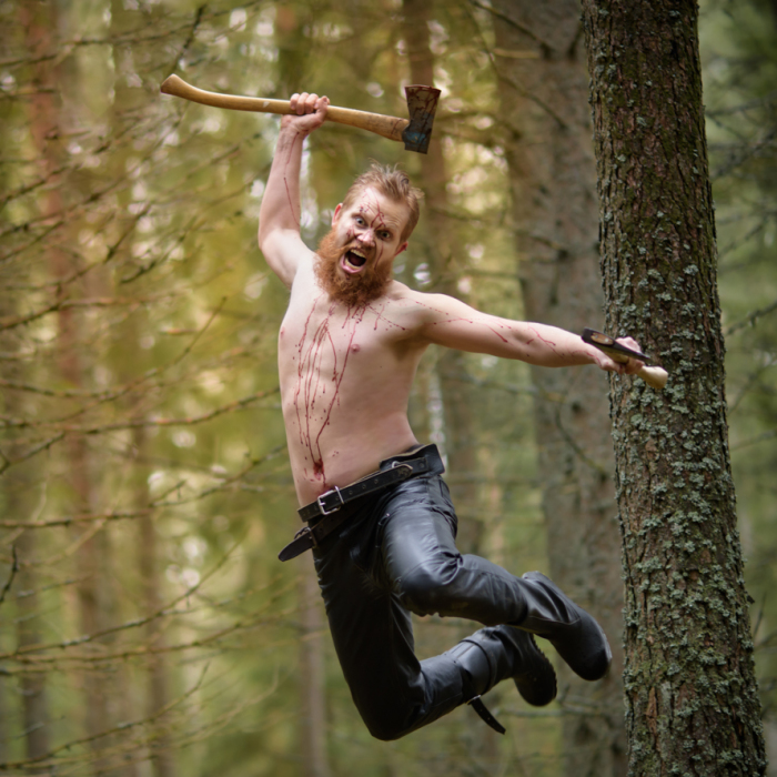 My Husband – A Very Real Swedish Viking In The Cold And Deep Forest Of The North