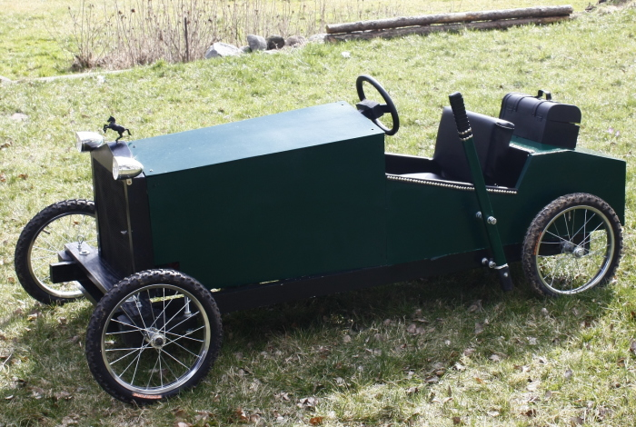 My Son Loves Vintage Cars, So I Made Him This Electric Replica From 20s