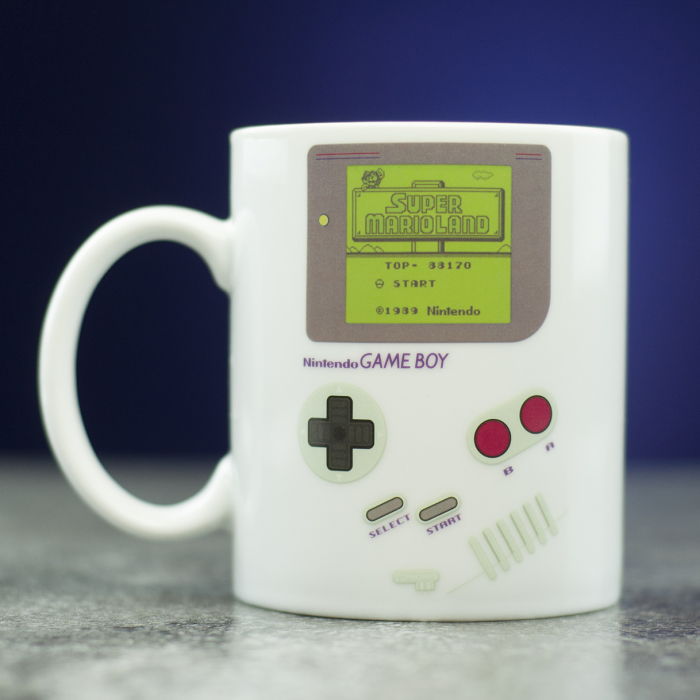 This Official Game Boy Mug Will Take Your Nintendo Fandom To The Next Level