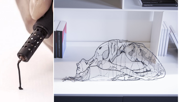 This Pen Allows You To Draw In Mid-Air