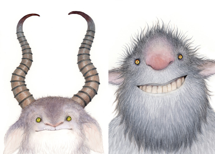 I Illustrated Unusual Beasts Inspired By Myths, Legends And Folklore