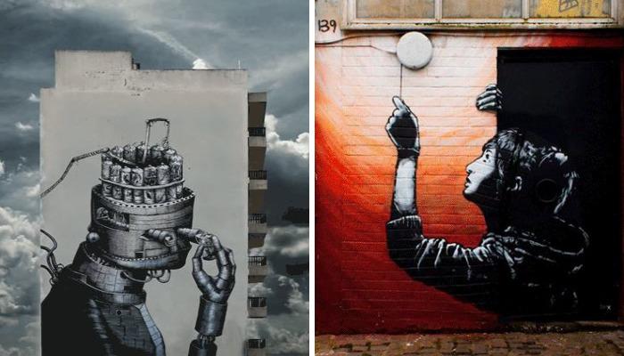 Spanish Photographer A.l. Crego Turns Street Art Graffiti Into Animated Gifs