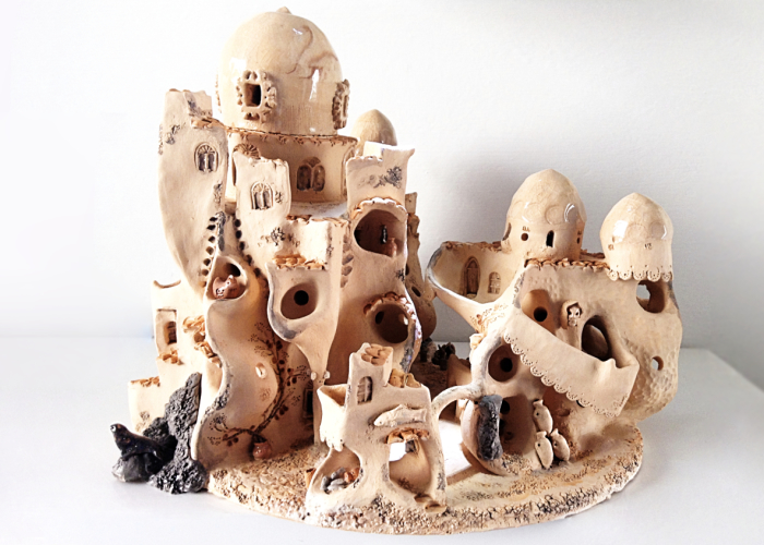 I Create Ceramic Villages Inspired By Sardinian Traditions