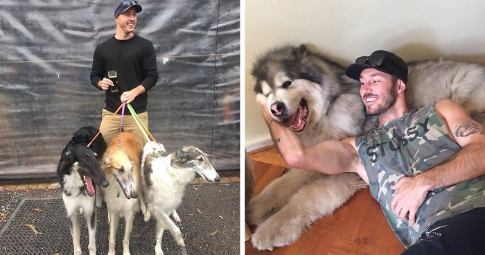 "This ""Crazy Dog Lady Man"" Is On A Mission To Rescue Every Dog In The World"