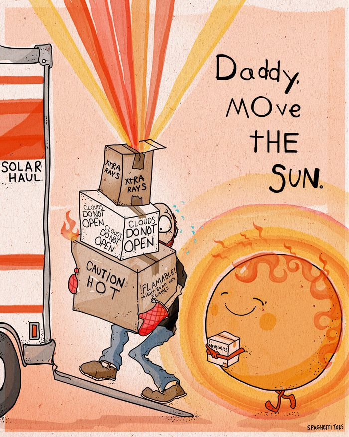 Dad Turns His Daughter's Sayings Into Illustrations