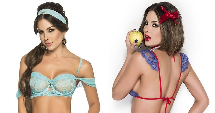 019b960767c4 Disney Princess Lingerie Sets Are Here, And You'll Either Love Them Or Hate  Them