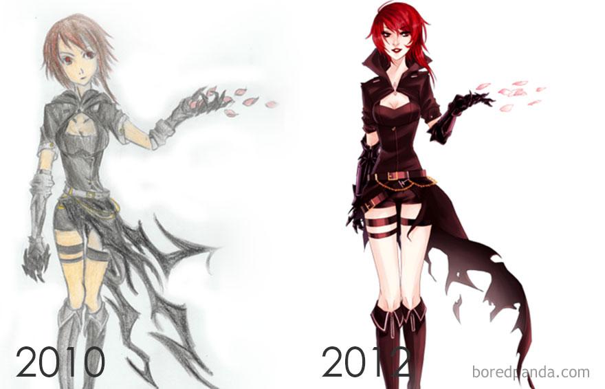 2010 Vs 2012 By Vonnabeee