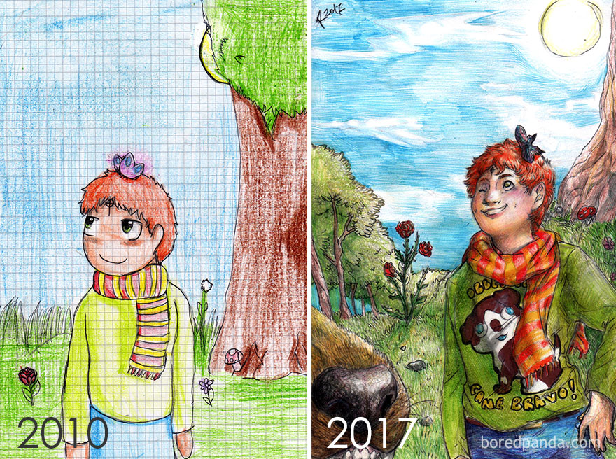 Redraw After 7 Years By E. Palmeri And R. Palmeri