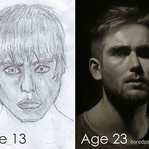 About 10 Years Of Progress By Miles