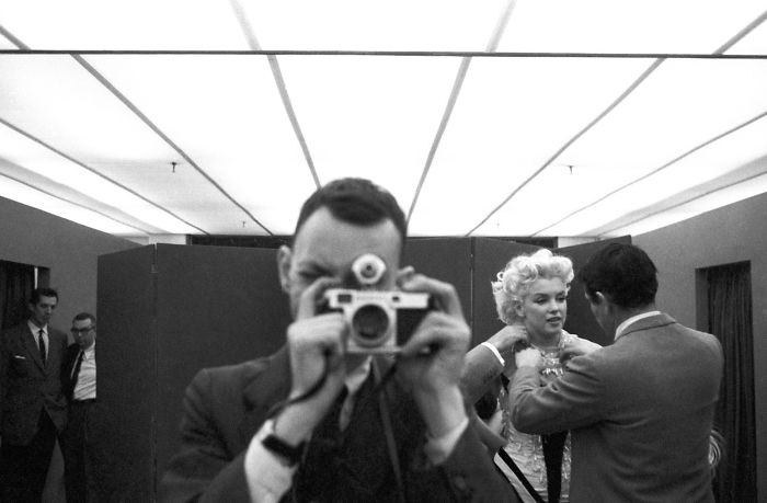 Ed Feingersh Self-Portrait With Marilyn Monroe, 1955