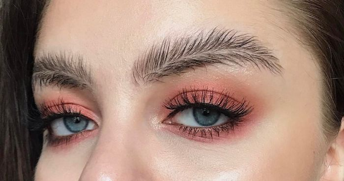 Feather Brows Is The Newest Trend Nobody Expected | Bored Panda