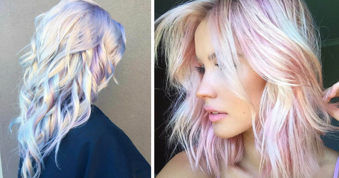 Holographic Hair Is Here And Its The Hottest Hair Trend Of 2017