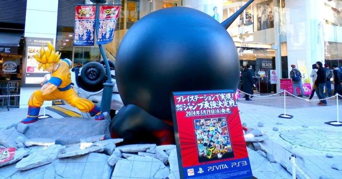 Goku Vs Luffy – Life-Size Anime Statues In Tokyo | Bored Panda