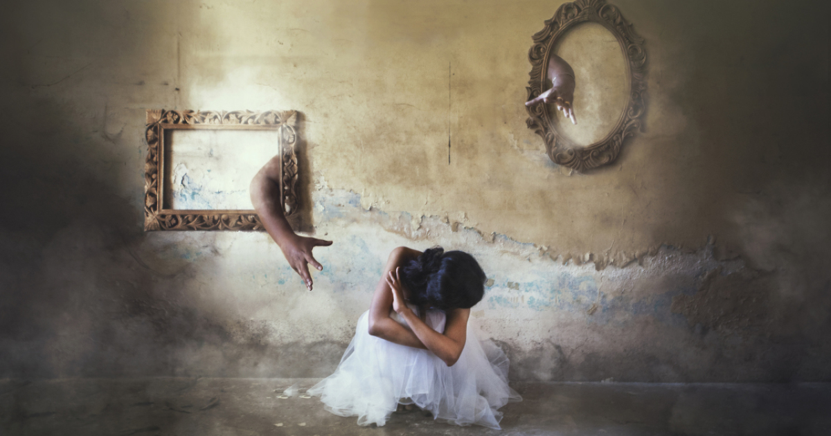 I Show The Darkness Of Depression Through Conceptual Photography