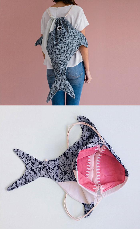 Adult Shark Backpack