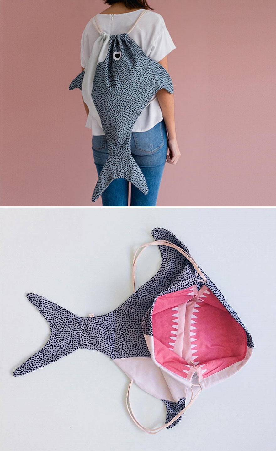Adult Shark Backpack
