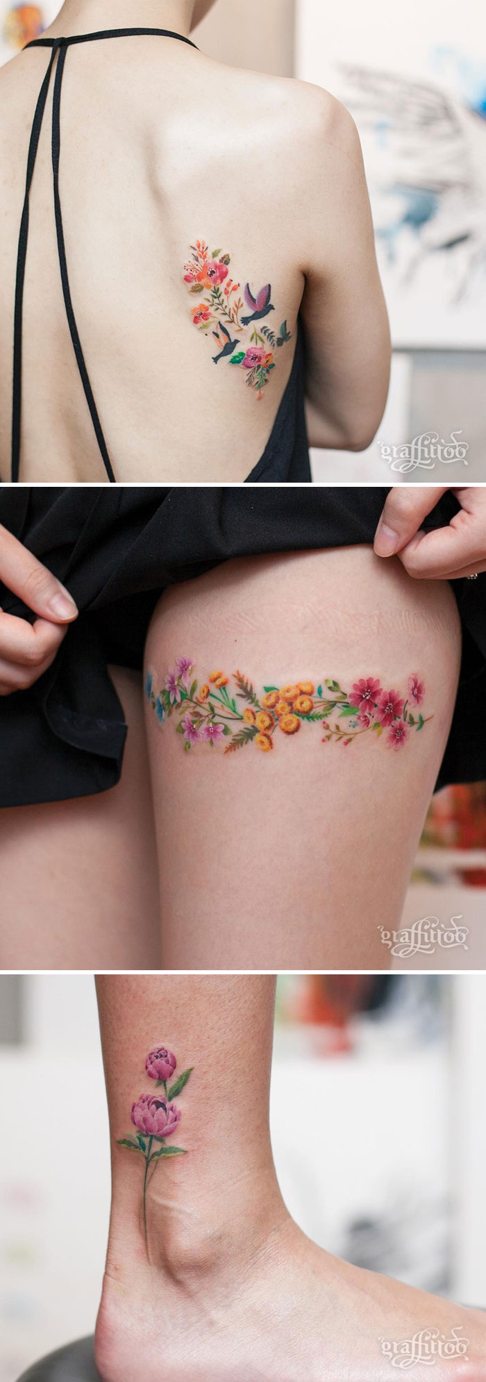 93b59fd69 30 Floral Tattoo Artists Who Will Make You Want To Get Inked | Bored Panda