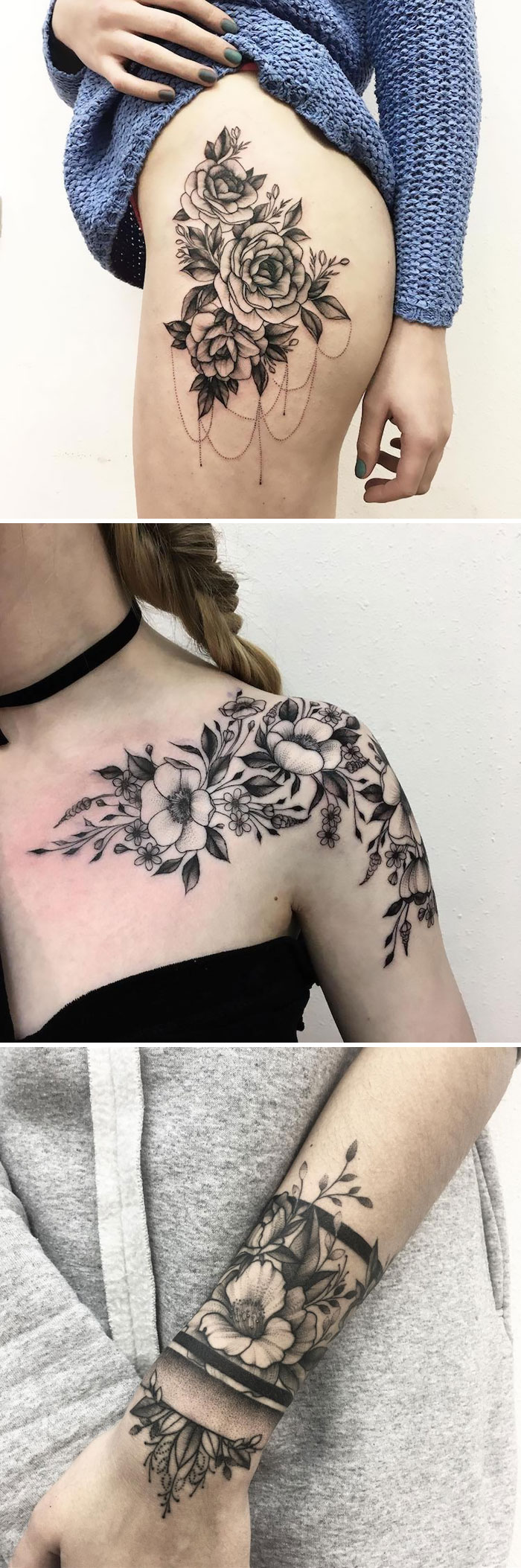 30 Floral Tattoo Artists Who Will Make You Want To Get Inked Bored Panda