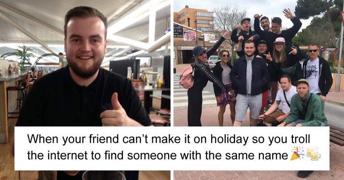 After Their Friend Cancels Trip At The Last Minute, They Invite A Complete Stranger With The SAME Name