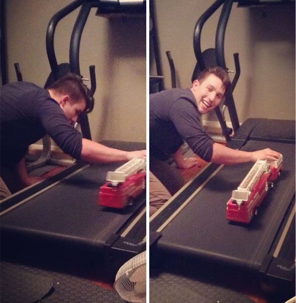 Caught My Husband Red Handed... Thought He Was Working Out