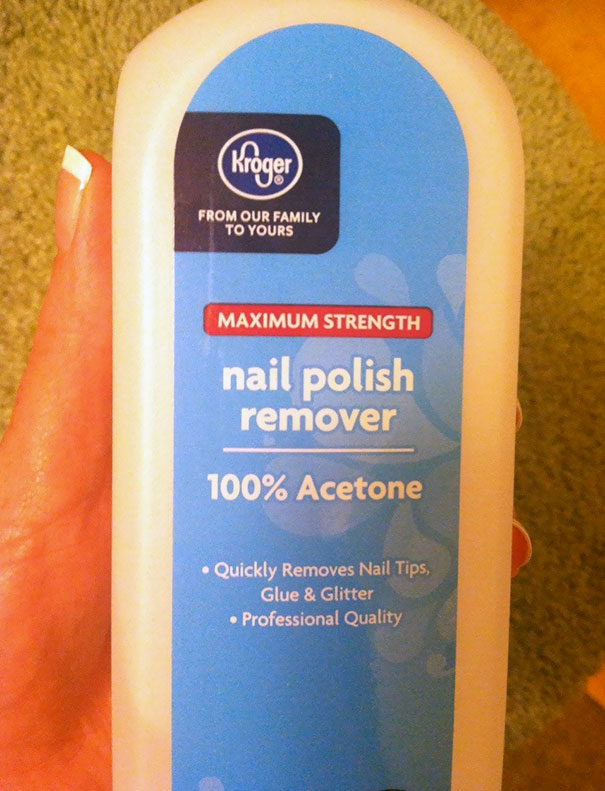 I Asked My Husband To Grab Me Some Make-Up Remover At The Store. He Came Back With This. Thanks For Trying, Babe