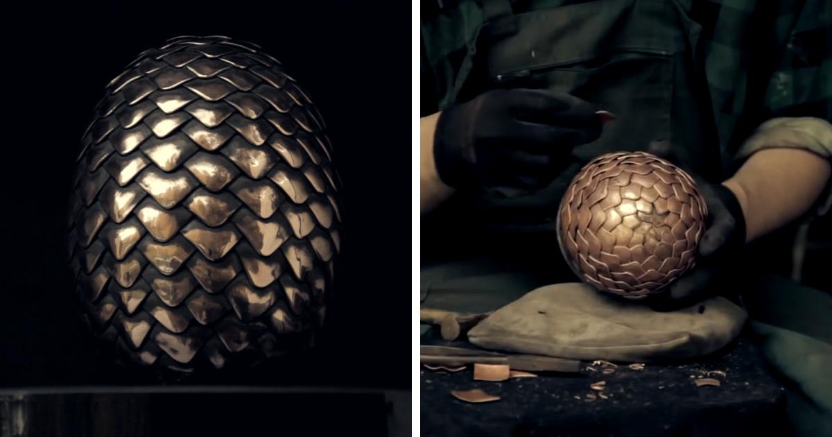Making Game Of Thrones Dragon Egg Bored Panda