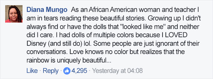 After Cashier Asks 2-Year-Old Girl If She Wants Doll That Looks 'More Like Her,' Toddler Brilliantly Shuts Her Down