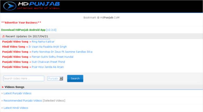 Download Latest Punjabi & Hindi Videos From Hdsongz.com