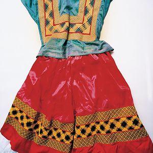 Traditional Tehuana Dress
