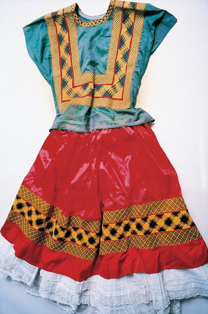 Traditional Tehuana Dress