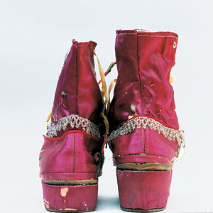 Kahlo's Fringed Boots