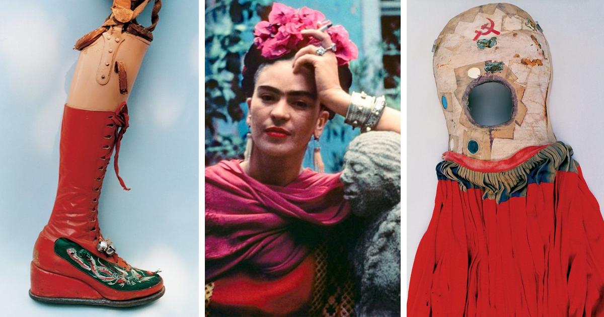 Frida Kahlo's Hidden Wardrobe Unlocked After Almost 50 Years