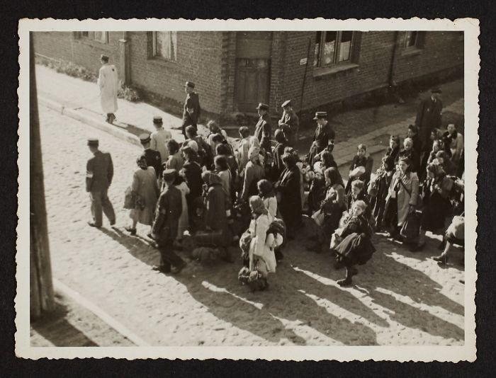 1944: Deportación masiva de los residentes del gueto